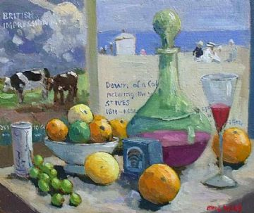 Eric Ward Original Still Life Oil Painting